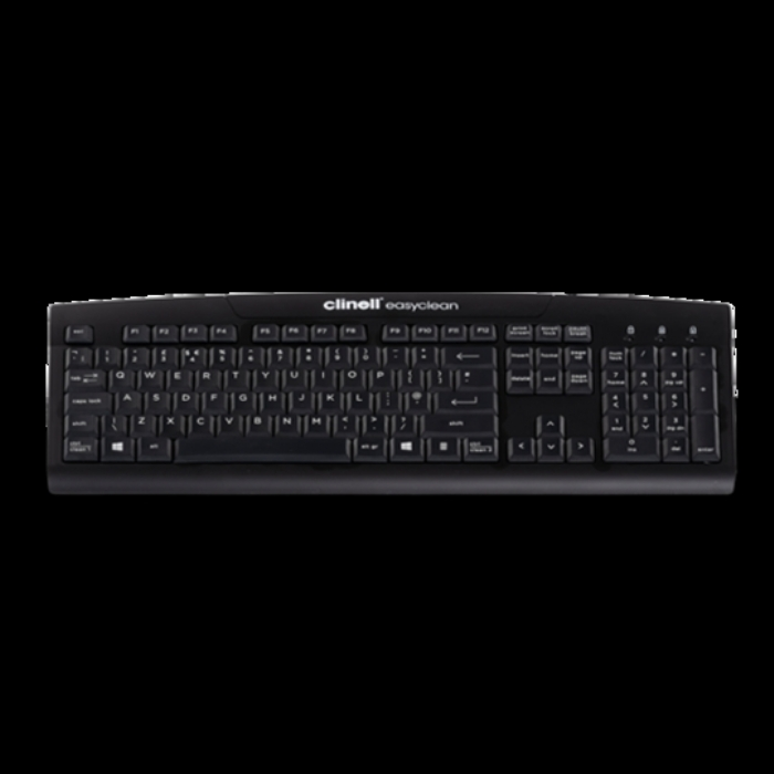 Clinell Easyclean True Type Keyboard Black