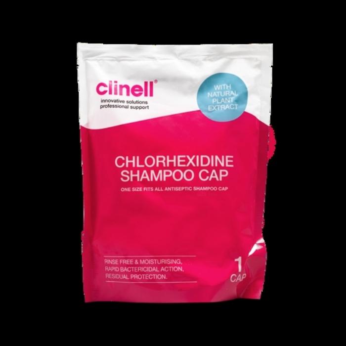 Clinell Chlorhexidine Shampoo Cap