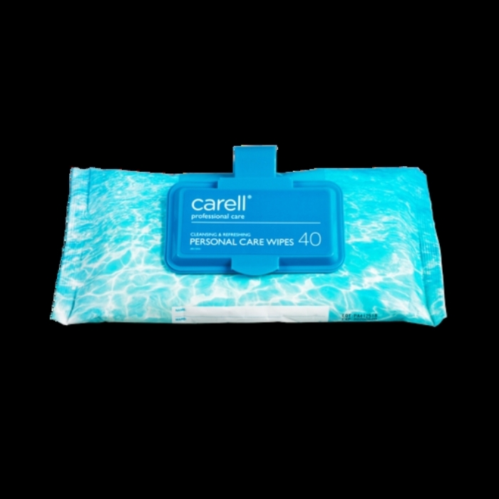CLINELL PERSONAL CARE WIPES CLIP PACK 40