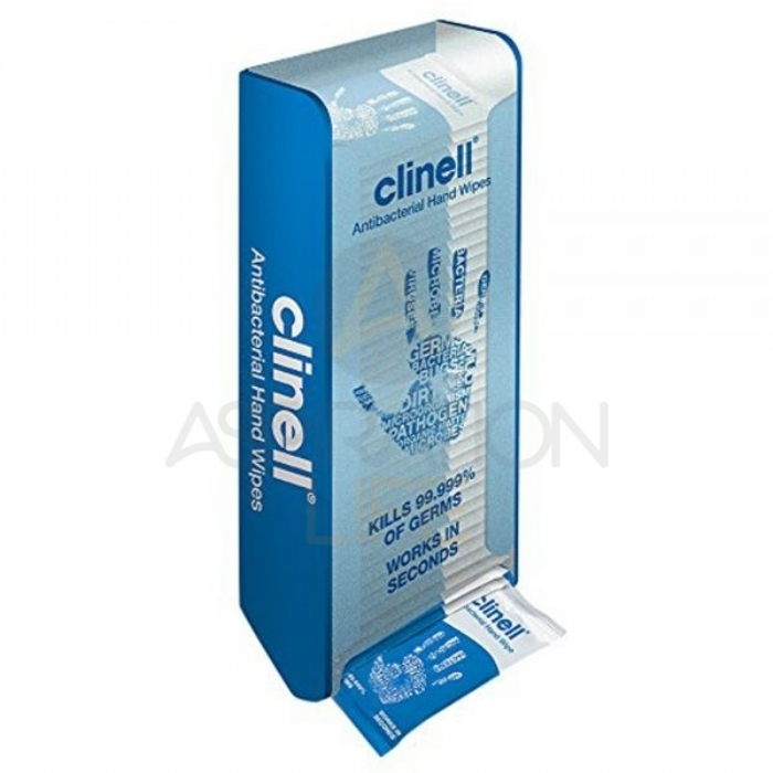 Clinell Antimicrobial Hand Wipes Dispenser