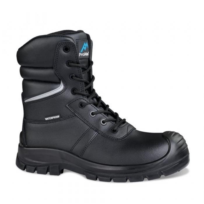 Proman ROCK FALL Delaware High Leg Waterproof Safety Boot - Wide Fitting