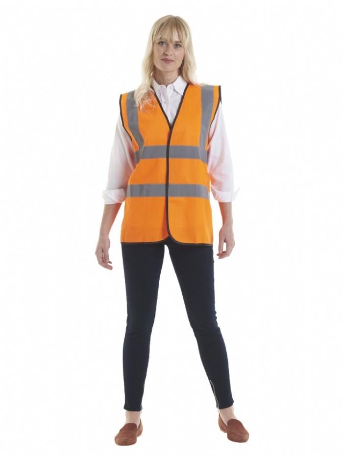 Uneek Sleeveless Safety Waist Coat UC801