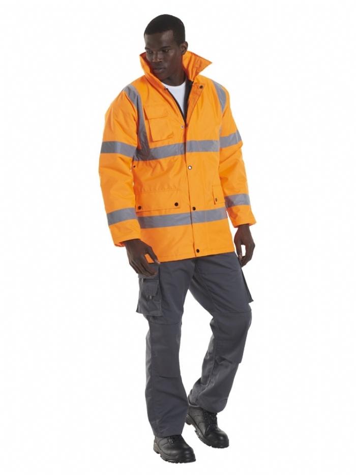 Uneek Hi Vis Road Safety Jacket UC803