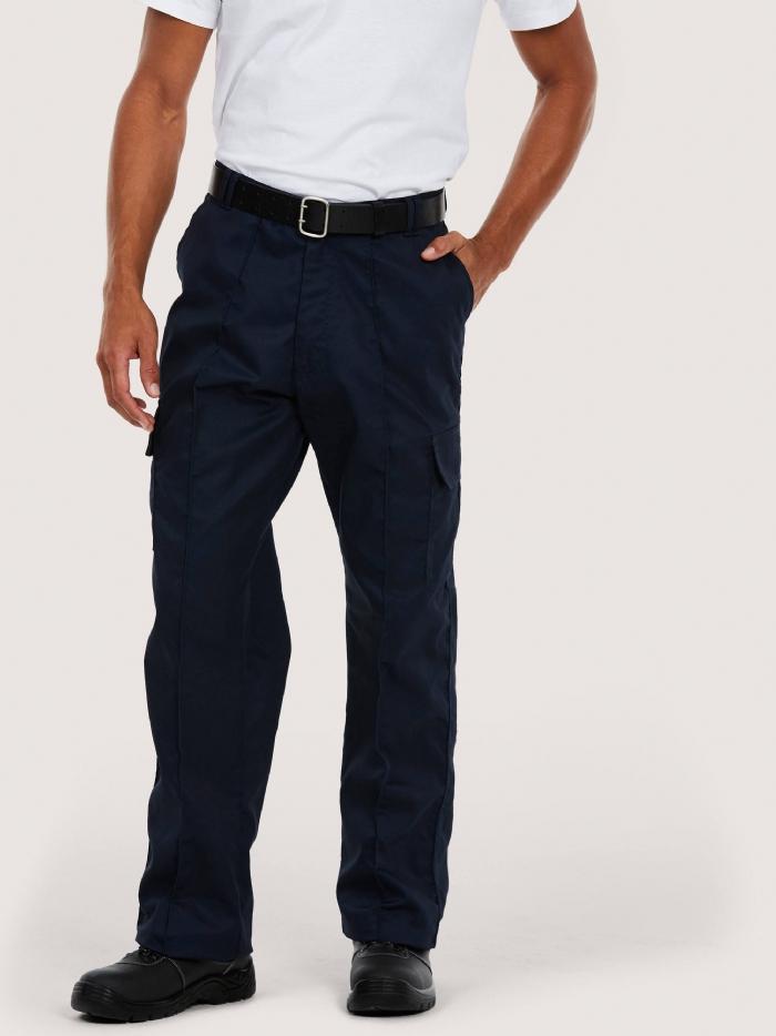 Uneek Cargo Workwear Trousers -Regular Leg- UC902 - 245GSM