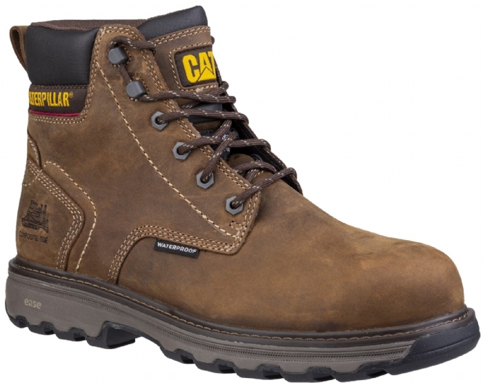 CAT PRECISION SAFETY BOOT BROWN