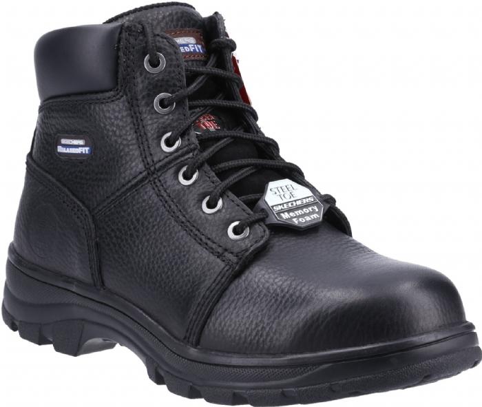 SKETCHERS SK77009WEC Workshire Steel Toe Boot