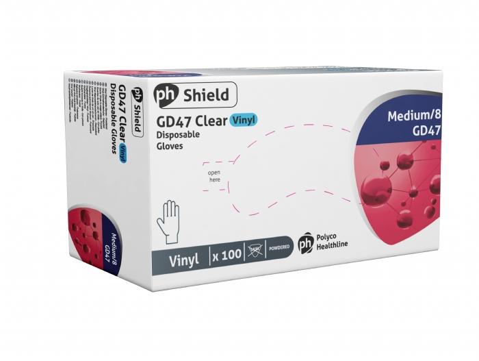 GD47 Powdered Vinyl Gloves