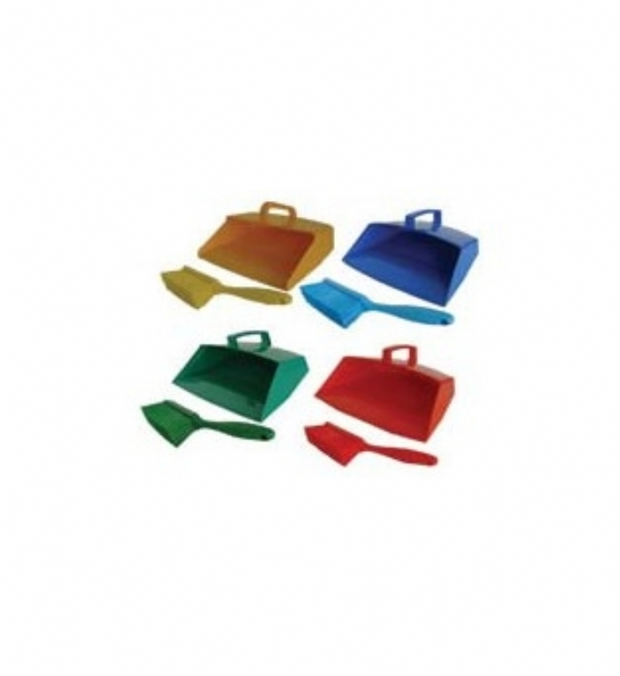 114-1296 Vikan Dustpan & Medium Hand Brush Set (MS60)