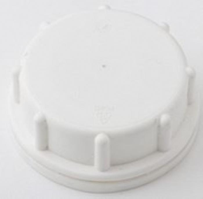 51MM Cap (TE) White With EPE Washer AIROPAK Cap