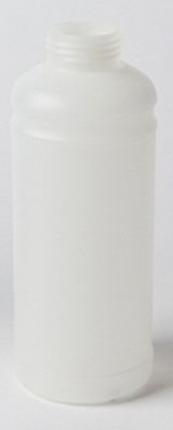 1 Litre Plastic Natural Cylindrical Bottle UN Fluorinated with 45mm Neck