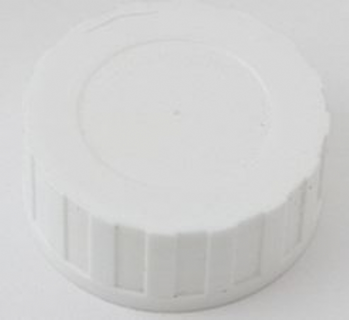 45mm Cap White PTFE/EPE